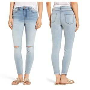 Ashley High Rise Skinny Ankle Jeans 27